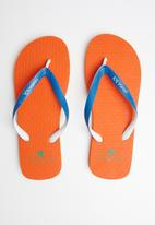 Samba Sol - Basic flip-flop - orange