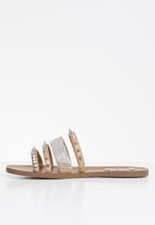 Steve Madden - Lindy slide - natural