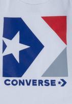 Converse - Chn star chevron 3 piece set - white & red
