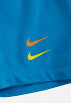 Nike - Nike boys nsw swoosh short set - blue & white