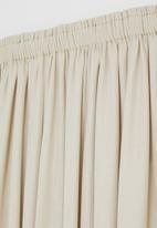Sixth Floor - Slub lined taped curtain - natural