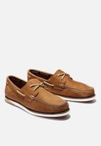 Timberland - Atlantis break boat shoe - rust