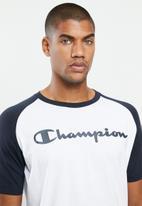 Champion - Champion legacy ac raglan - white & navy