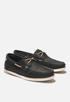 Timberland - Atlantis break boat shoe - black