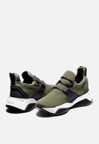Timberland - Emerald bay knit sneaker - dark green