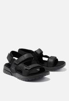 Timberland - Anchor watch back strap sandal - black