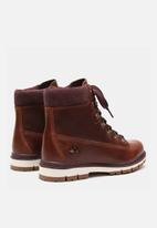 "Timberland - Radford 6"" d-ring boot waterproof - rust"