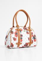 POLO - Iconic floral heritage - white