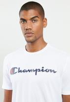 Champion - Classic crew neck T-shirt - white