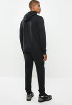 Champion - Hooded full zip track suit - black & yellow