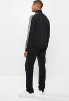 Champion - Full zip track suit - black & grey