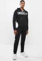 Champion - Hooded full zip suit - black