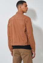 Superbalist - San Fran denim trucker jacket - tobacco