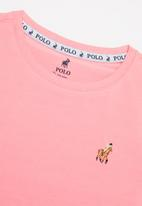 POLO - Girls kelly ss tee - pink