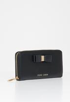 Pierre Cardin - Valerie zip around wallet - black