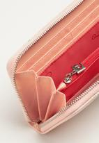 Pierre Cardin - Brittany zip around wallet - pink