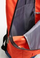 Lonsdale - Backpack - orange & navy