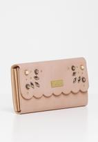 Pierre Cardin - Emily scalloped purse rose - pink