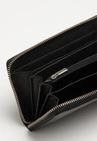Pierre Cardin - Coco ladies zip around - black