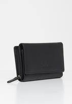 Pierre Cardin - Dior ladies trifold - black