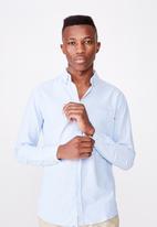 Cotton On - Brunswick shirt 3 - sky blue oxford