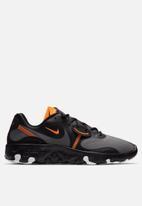 Nike - Renew Lucent 2 - black / iron grey-total orange-white