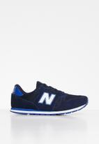 New Balance  - 373 Classic kids trainers - navy