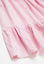 Superbalist Kids - A-line summer dress - white & pink