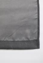 Sixth Floor - Metro self-lined eyelet curtain - charcoal