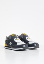 New Balance  - Infants classic 574 v1 - black & yellow
