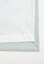 Sixth Floor - Slub lined eyelet curtain 2 pack - duck egg