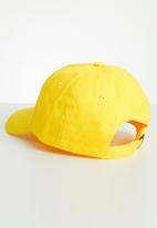 POLO - Kids parker peak cap - yellow