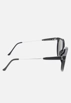 SUPER By Retrosuperfuture - Giaguaro sunglasses 53-22-145 - black/silver