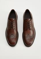 MANGO - Shoes leonapa - brown