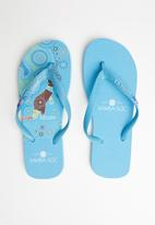 Samba Sol - Australia flip-flop - light blue