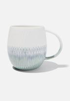 Cotton On - Marlana mug - white & green