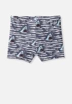 Cotton On - Billy boyleg swim trunk - grey
