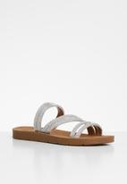 edit - Nikki sandal - silver