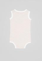 Cotton On - 4 pack singlet bubbysuit - multi