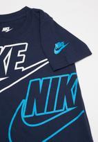 Nike - Cargo short set - blue & grey