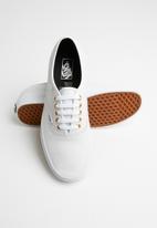 Vans - Ua authentic - (leather) true white/true white