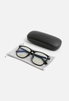 Superbalist - Evan blue light glasses - black