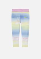 Nike - Nike girls all over print tech pack legging - multi