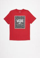 Vans - Print box boys - red