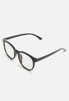 Superbalist - Malcom blue light glasses- black