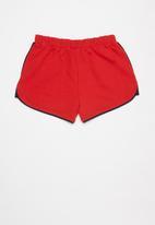 POLO - Girls megan short - red