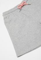 POLO - Girls hannah printed short - grey