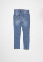 POLO - Girls isabella skinny jean - blue