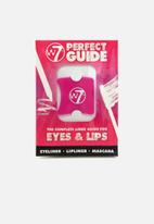 W7 Cosmetics - Perfect Guide - Stencils For Eyes & Lips