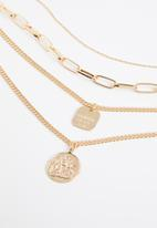 Superbalist - Scarlet layered necklace - gold